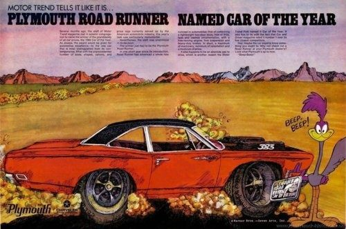 1969 Plymouth Roadrunner Ad Muscle Car Reviews