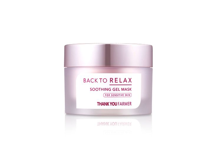 Back To Relax Soothing Gel Mask — THANK YOU FARMER