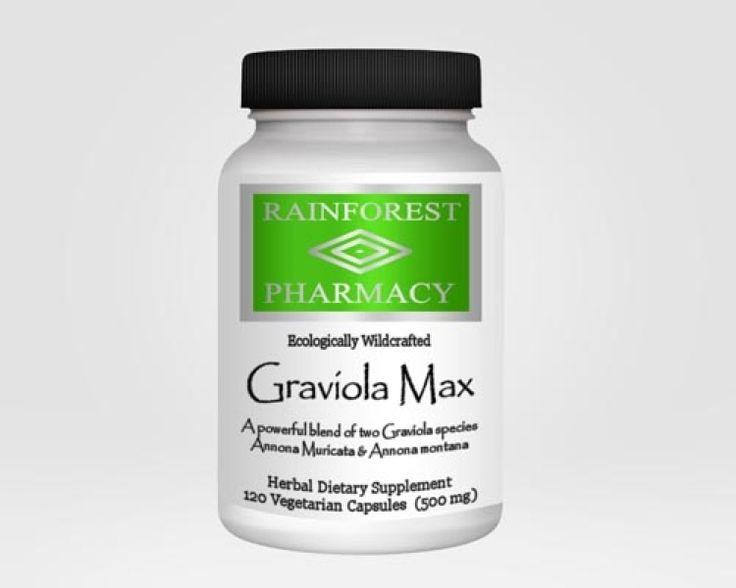 Graviola Max. Annona muricata and Annona montana