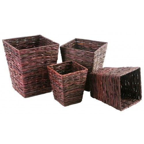 Palm Leaf Basket - Square - Set of Four £99.99