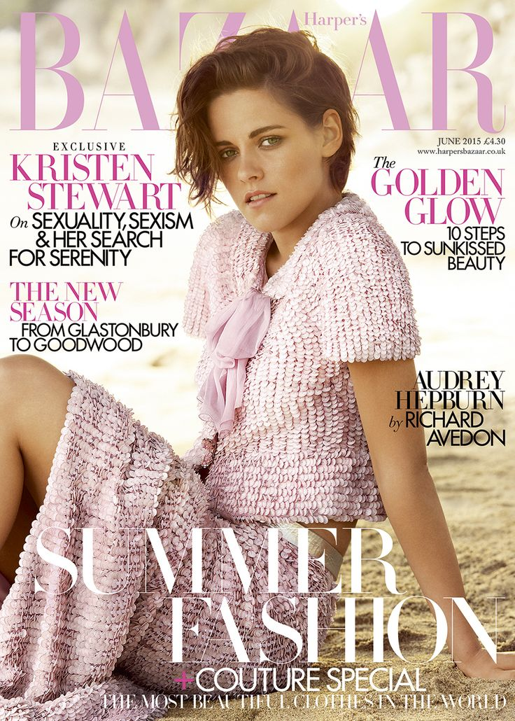 Kristen Stewart Harper's Bazaar UK June issue cover - interview and pictures | Harper's Bazaar