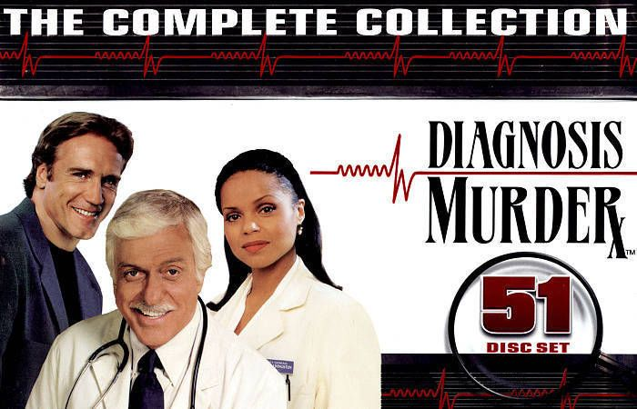 Diagnosis Murder The Complete Collection Boxet 1-8 (DVD, 2013, 5-Disc Set) NEW!