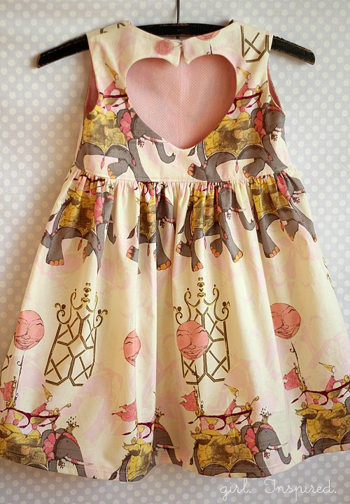 Girl. Inspired. {sewing, crafts, party inspiration}: Sweetheart Dress Pattern Review