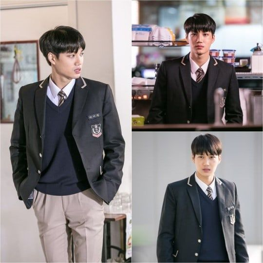 "EXO's Kai Transforms Into A Rebellious High Schooler In New Stills For ""Andante"" 