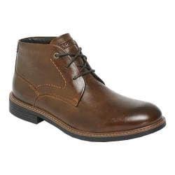 Men's Rockport Classic Break Chukka Boot Dark Brown Leather