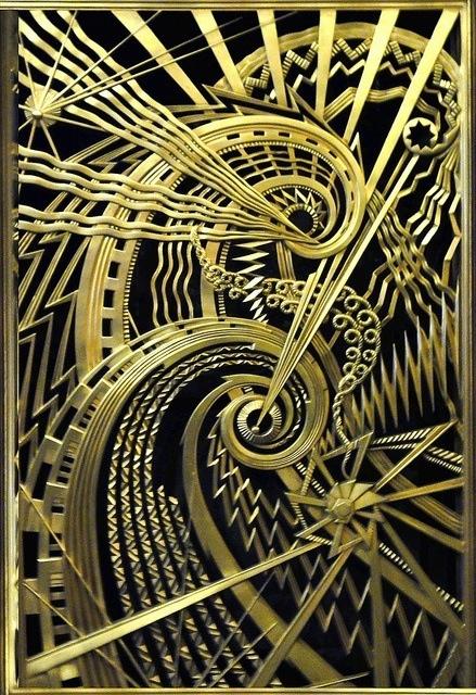 Art Deco. New York . Stunning. #gold #black
