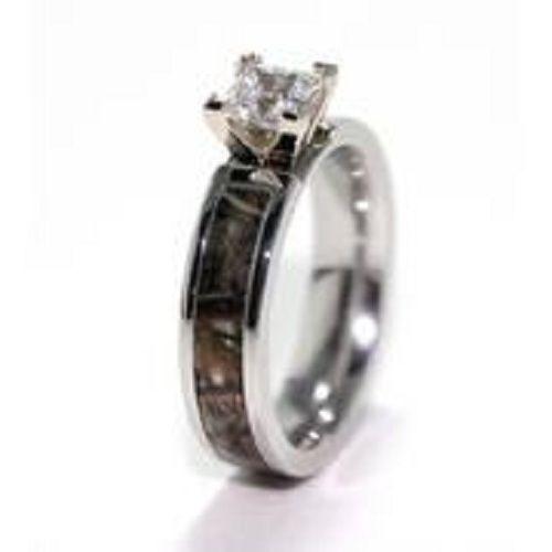 camo promise rings for women