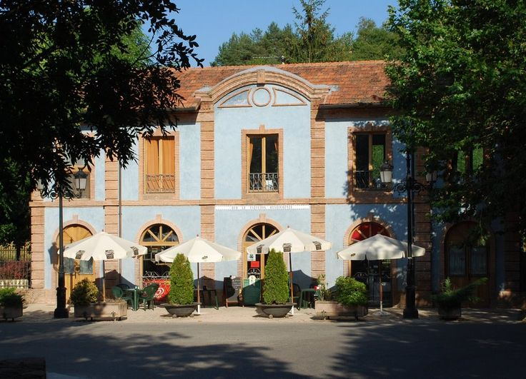 Estación reconvertida (Ezcaray, 2-8-2007)