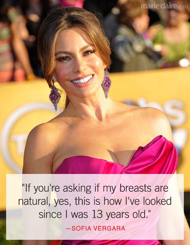Best Sofia Vergara Quotes - Funny Celebrity Quotes - Marie Claire
