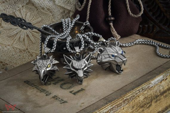 """Pendants based on """"the witcher"""" book series"""