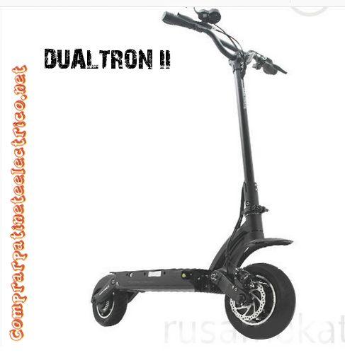 El Patinete Eléctrico Dualtron II el mas potente y mas rápido del mercado. Puedes comprar tu patinete eléctrico en nuestra web. www.comprarpatineteelectrico.net
