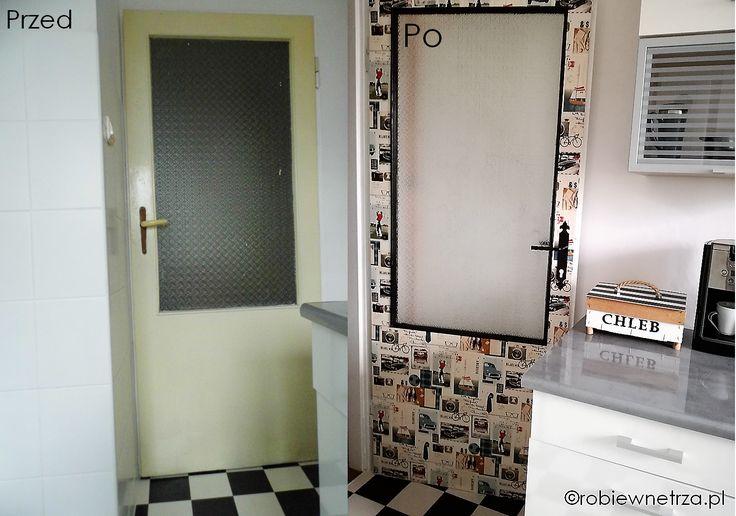 drzwi prl, odnowione drzwi, plr-owskie drzwi, stare drzwi, old door ideas, interior door ideas diy, interior door makeover