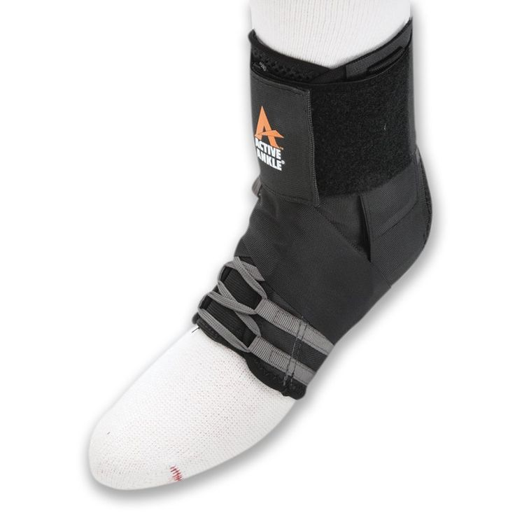 Active Ankle Excel Lace-up Ankle Brace For Injured Ankle Protection and Sprain Support *** Trust me, this is great! Click the image. : Sports First Aid