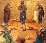 Transfiguration 1308-11  by Duccio Di Buoninsegna