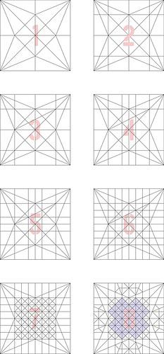Hycrangea Sequenced Crease Pattern