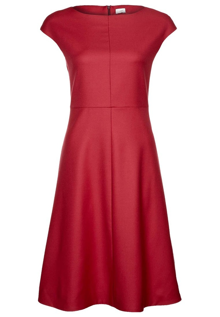 Zalando rode jurk