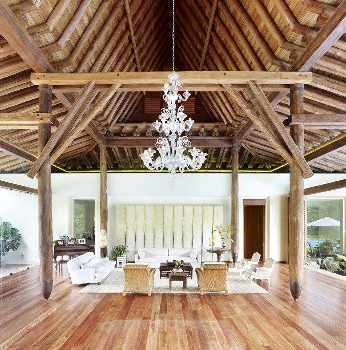 Casa Hapasigua, un homenaje a la madera
