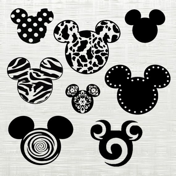Mickey Mouse Svg Disney Cutfile Svg Svg Files For Silhouette With