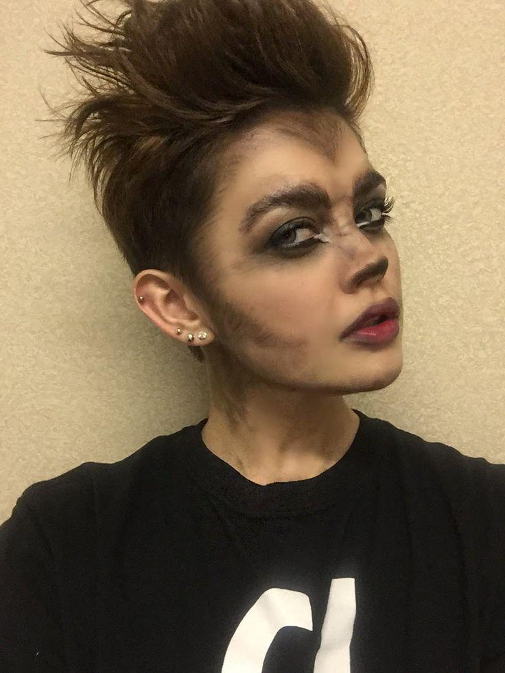 Drugstore Wolf Makeup Tutorial - YouTube