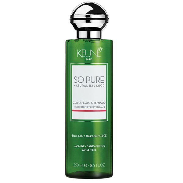Sampon natural par vopsit - Keune So Pure - Color Care Shampoo - iti ofera un par matasos, delicat si pastreaza culoarea, hidratand parul.