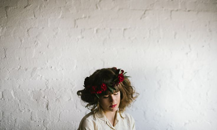 Erin Duffield, Shot in Melbourne With 'Raven & The Rose' florist and Free The Bird photography