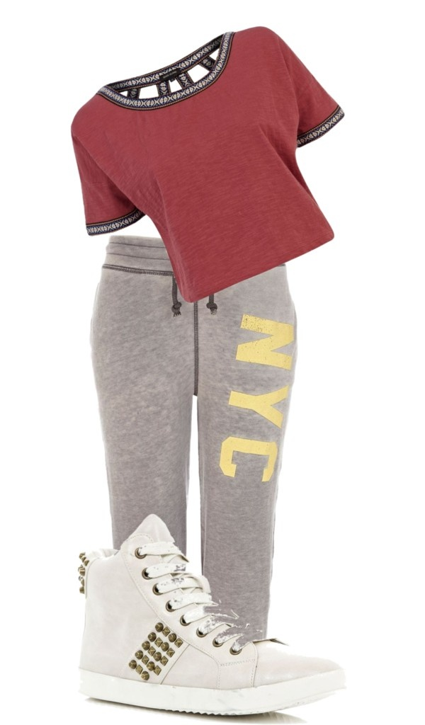 Dance outfit!!!!!!!! Especially for a hip hop class :)