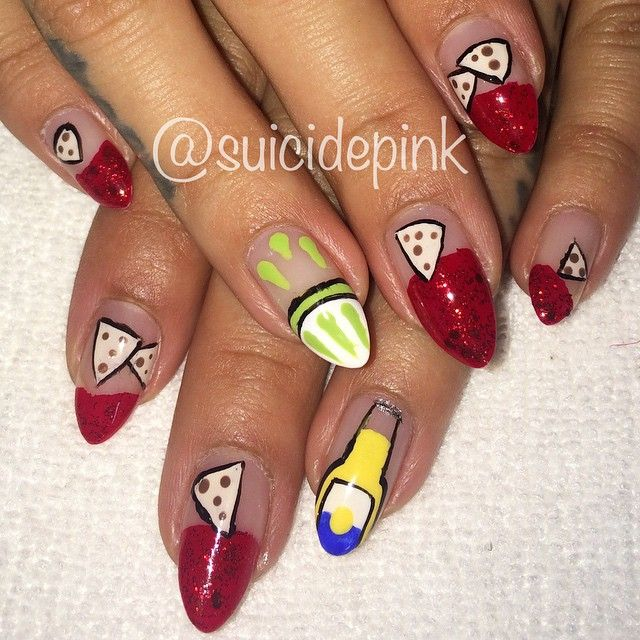 39 best National Pride Nail Art images on Pinterest | Pride, Canada ...