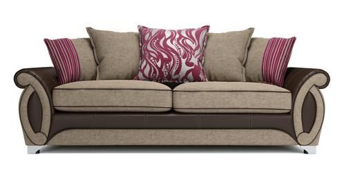 Helix 4 Seater Pillow Back Sofa Helix | DFS