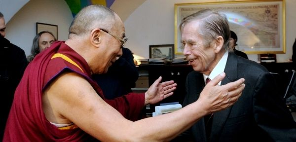 #Dalajlama with Vaclav #Havel