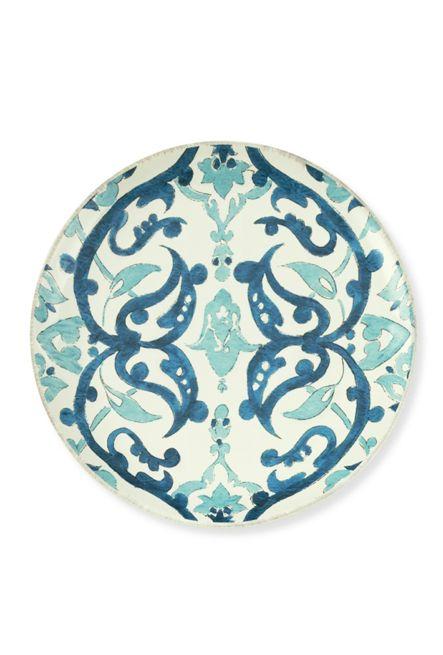 Blue Turkish Tile Salad Plates