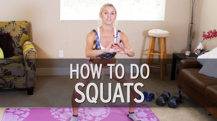 XHIT - How to Do a Squat Correctly <3