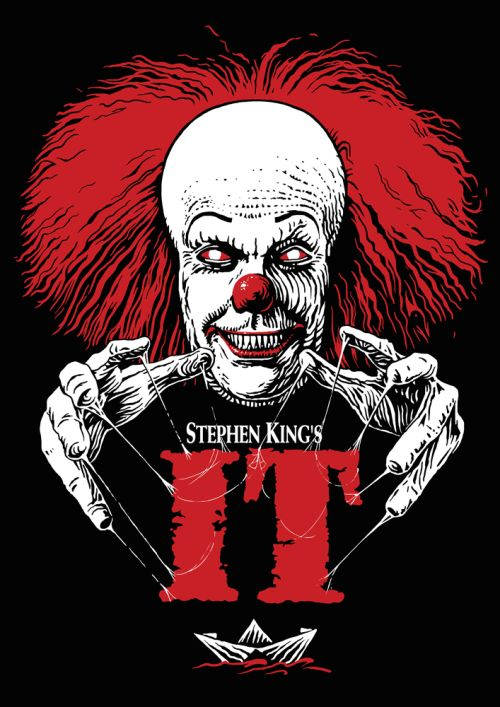Stephen King's IT by SergiyKrykun