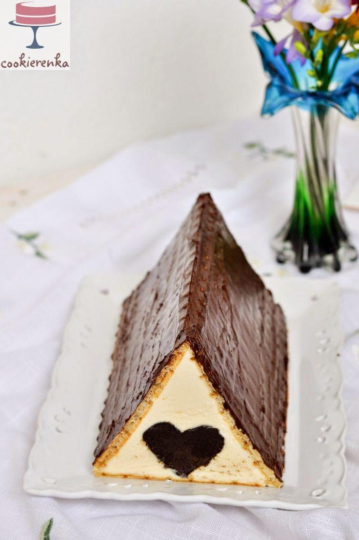 Domowa cookierenka Agi: Ciasto CHATKA MIŁOŚCI, nie Baby Jagi ;)