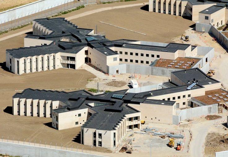 Falster set fra luften - Det nye fængsel Gundslev - #Guldborgsund #Falster