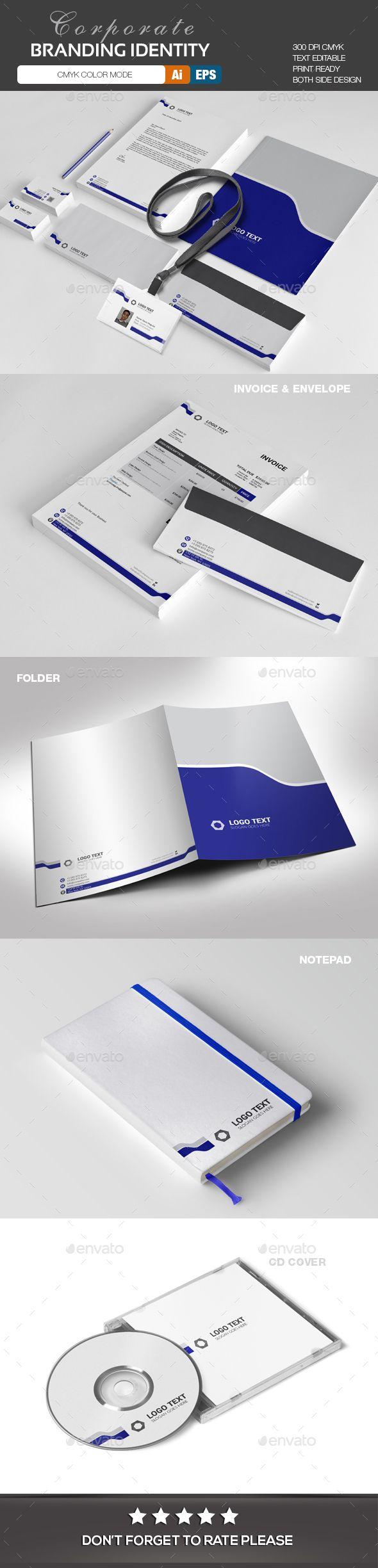 247 best stationery design templates images on pinterest design corporate branding identity template stationery print design spiritdancerdesigns Choice Image