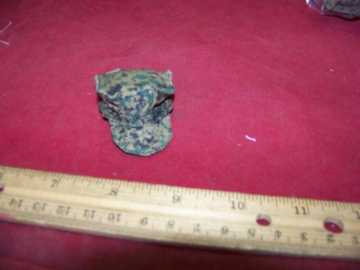 1:6 Scale BBI Digital Camo USMC Cloth Field cap