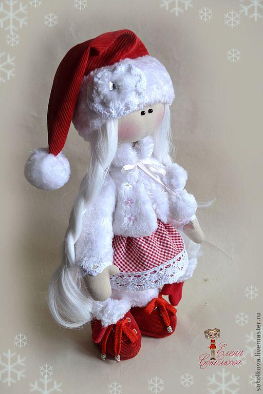 Muñeca vestida de Mama Noel