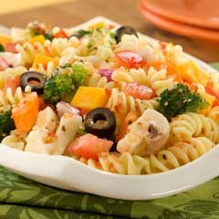 Classic Italian Pasta SaladPasta Salad Recipes, Potatoes Salad, Italian Pasta Salad, Healthy Pasta, 4Th Of July, Salad Dresses Recipe, Healthy Food, Classic Italian, Classic Pasta