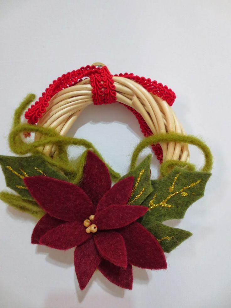 la bottega creativa di eli: ghirlande natalizie