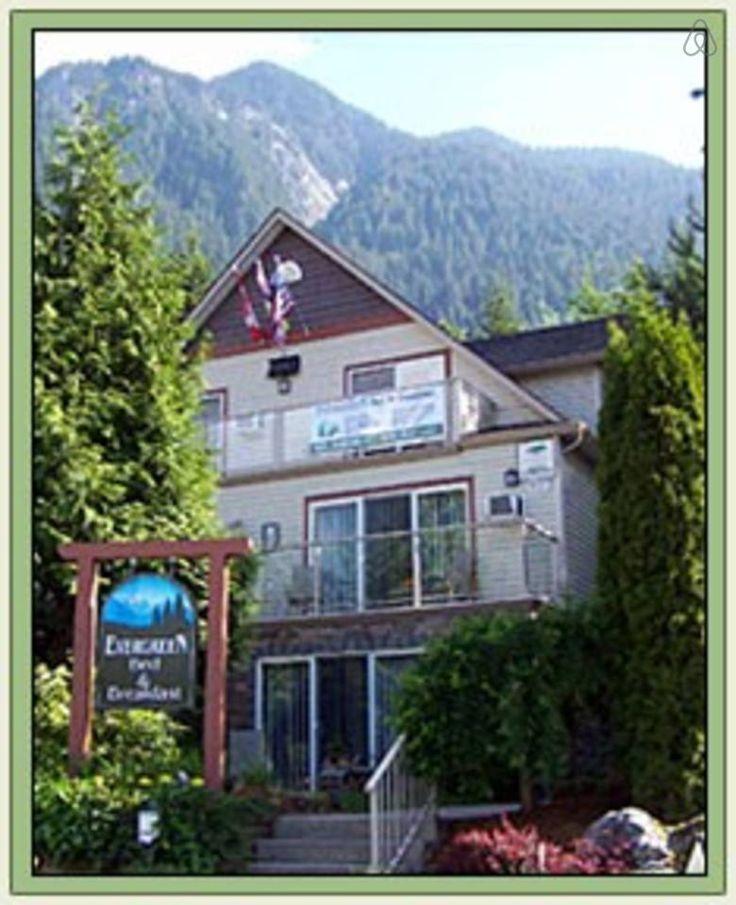 Evergreen B&B located in beautiful Hope, BC