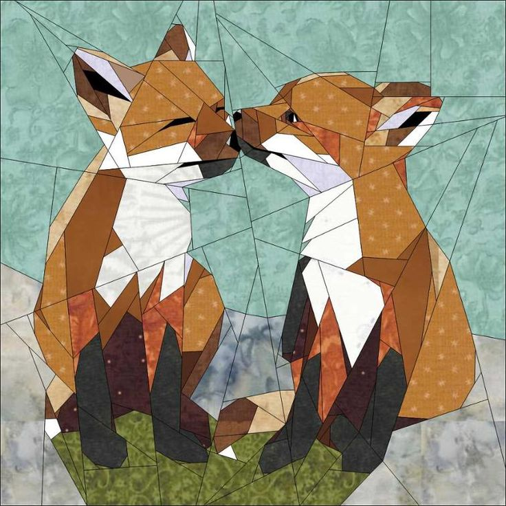 Fox Cubs Playing   Craftsy