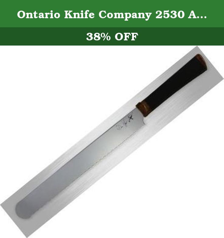 Ontario Knife Company 2530 Agilite Bread Knife. Ontario's products routinely deliver the most cherished attributes of PERFORMANCE and VALUE, all at affordable prices! Some of our product lines include Sporting/Outdoor Knives, Old Hickory Kitchen Cutlery, Industrial and Agricultural Products, Ontario/RAT, Ranger Knives, and Sci-Med Scientific Tools and Instruments.