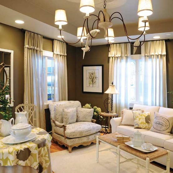 36 best Decorating with Chocolate Brown Walls images on ...
