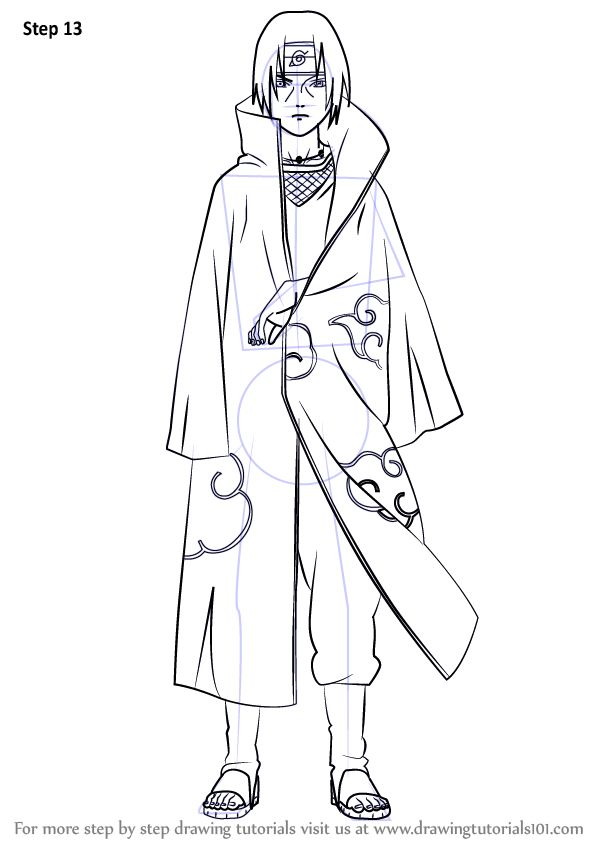how to draw naruto uzumaki step by step