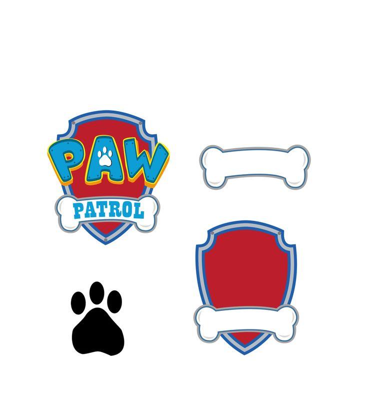 Paw Patrol SVG Vector logo, digital download DxF, SVG, EPS, Svg size 2000x2000 Px