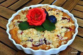 My Home Style: Švestkový koláč se zakysanou smetanou
