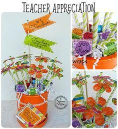 Teacher Appreciation Gift / Gift Idea for Teacher / Hershey Nugget Wraps…