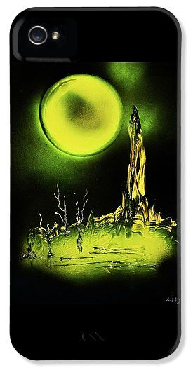 Land Of Rituals IPhone 5 / 5s Case Printed with Fine Art spray painting image Land Of Rituals by Nandor Molnar (When you visit the Shop, change the orientation, background color and image size as you wish)