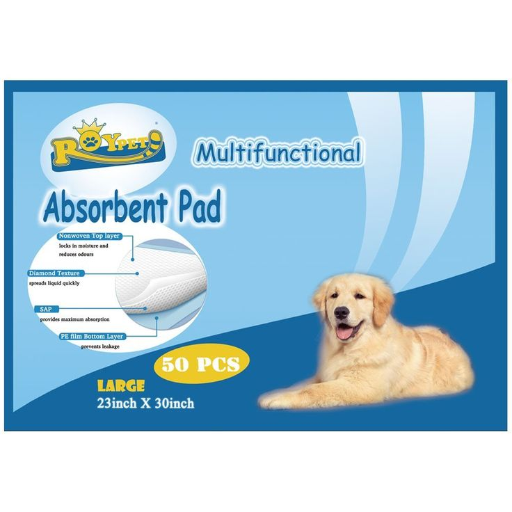 Roypet Pet Training Pads in Different Size * Awesome cat product. Click the image : Cat litter