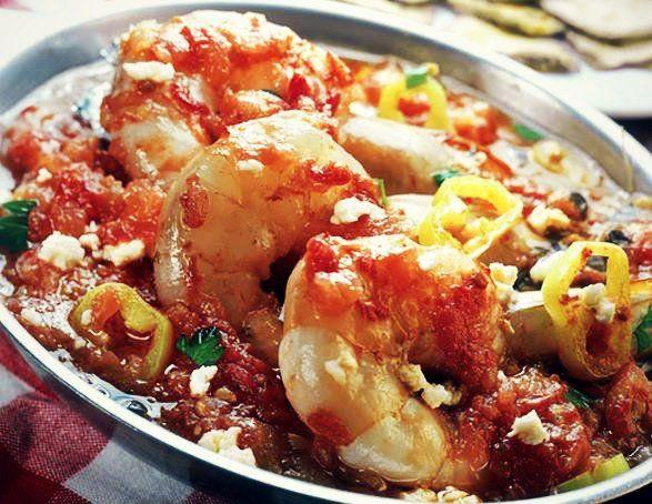 Νηστίσιμη συνταγή για γαρίδες σαγανάκι! (3 μονάδες)